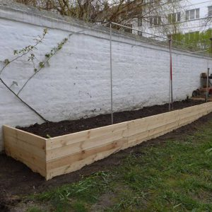 A new raised bed
