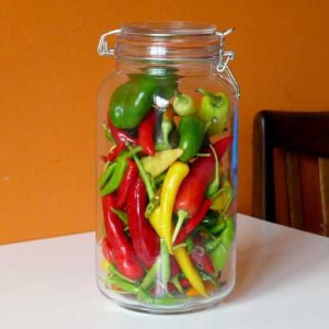 Chillis for pickling