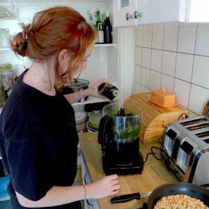 A Pesto maker
