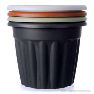 50cm Large Round Plastic Plant Pot
