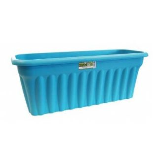 80cm Extra Large Long Rectangular Plastic Trough Planter