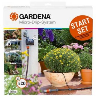 Gardena Original Starter Set With Water Computer C14E