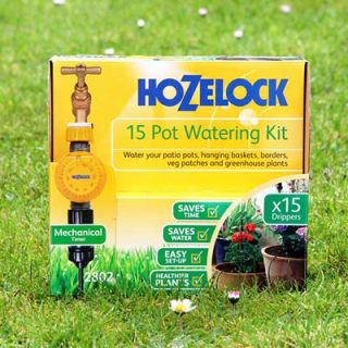 Hozelock 15 pot Watering Kit