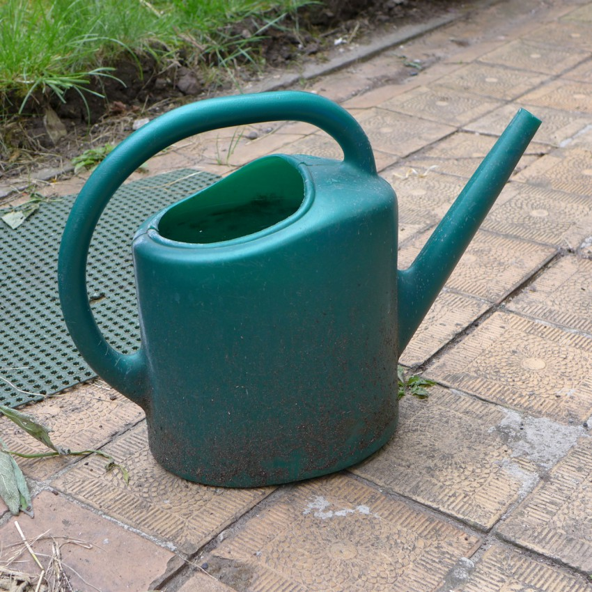 The old watering can