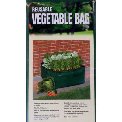 Patio planter bag for Vegetables