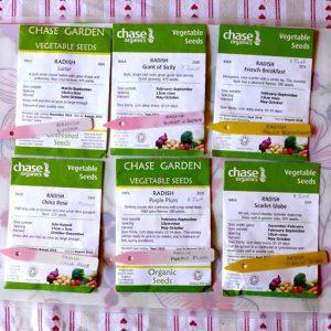 Radish varieties