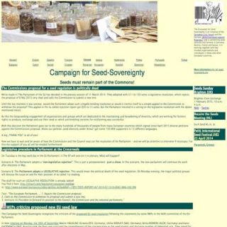 Campaign for Seed-Sovereignty