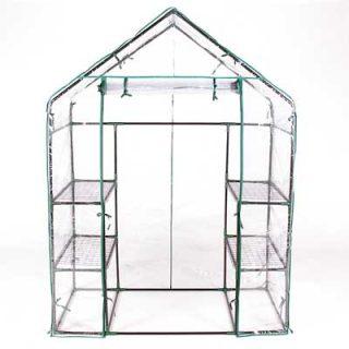 Terra Steel Framed Walk-in Greenhouse