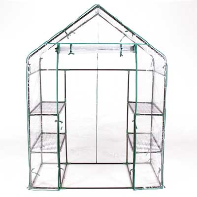 Terra Steel Framed Walk-in Greenhouse