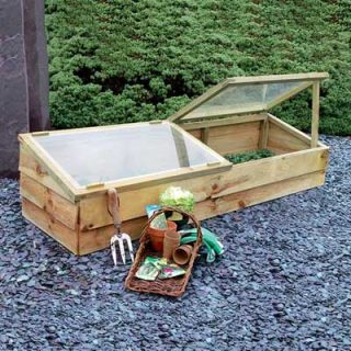 Zest 4 Leisure Double Wooden Cold frame