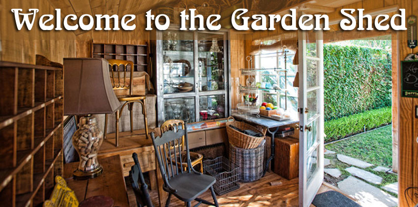 Welcome to the Garden Shed